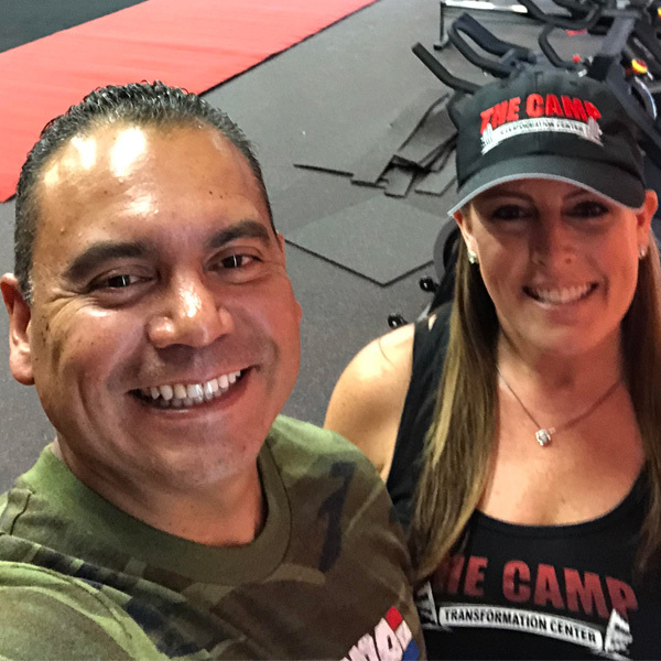Franchisee Oz and Stacie Cruz